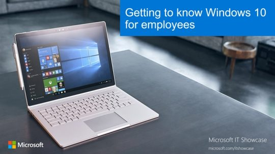 Getting to know Windows 10