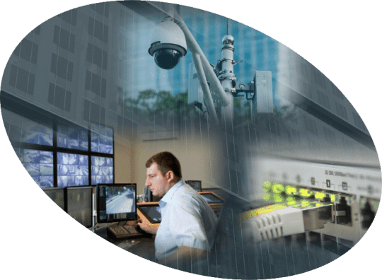 commercial property CCTV control room
